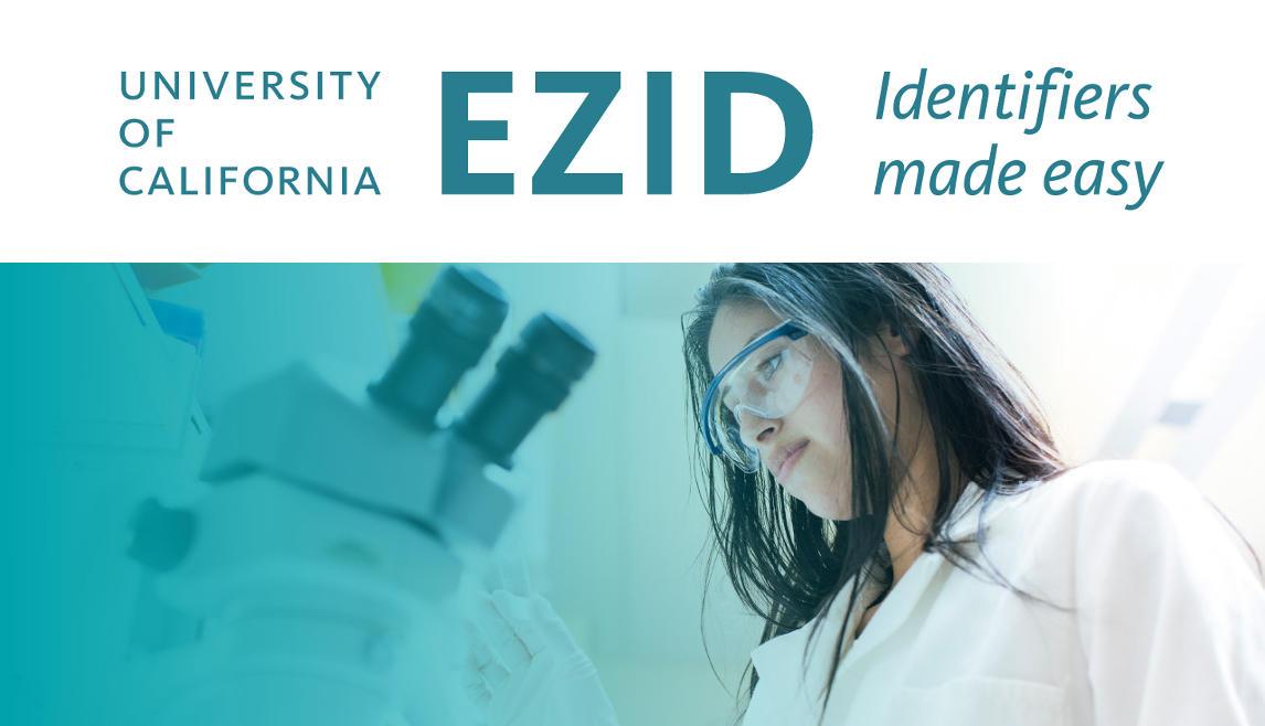 EZID: The EZID API, Version 2